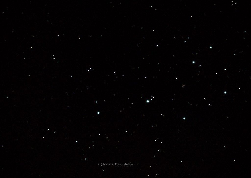 Plejaden durchs 750mm Teleskop